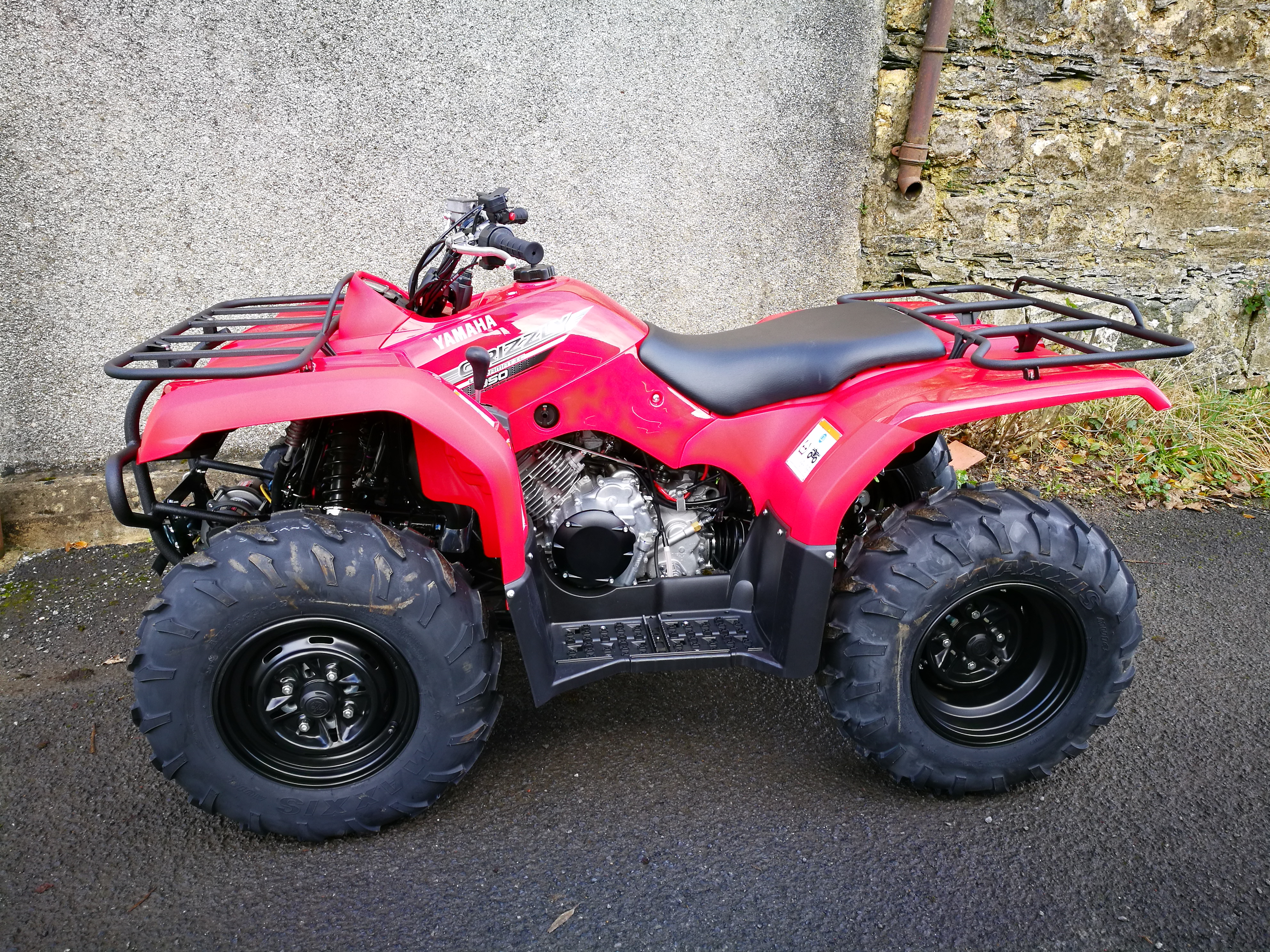 yamaha grizzly 350 4x4 lamo 39 s motorcycles